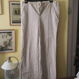 Banana Republic size 12L seersucker suit pants